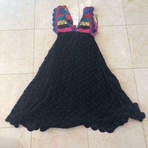 Zara NWT $100 Woman's Knitwear Maxi Dress Size S